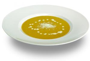 Soupe au coco et au curry